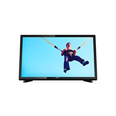 22PFT5403/56  تلفزيون LED رفيع جدًا بدقة Full HD