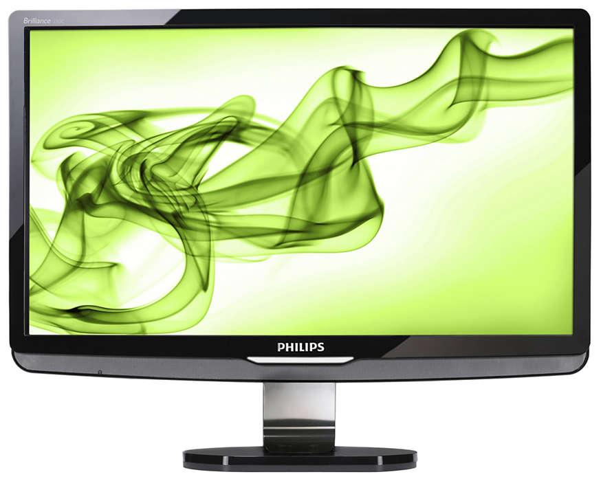 Dokonalý HDMI LCD monitor pre zážitok z Full-HD multimédií
