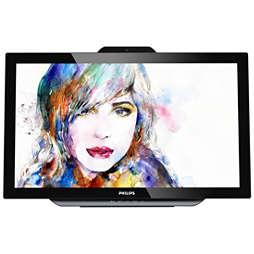 Brilliance LCD-näyttö ja SmoothTouch