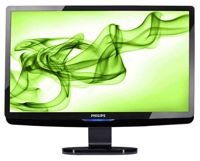 Duży wyświetlacz Full HD zapewnia wspaniałe wrażenia wizualne