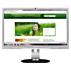 Brilliance IPS LCD monitor, LED backlight