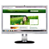 Brilliance IPS LCD-monitor met LED-achtergrondverlichting