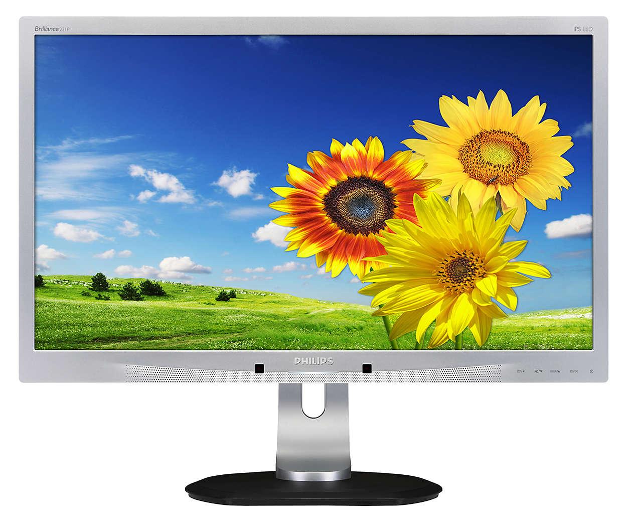 Μοναδική απλότητα με την οθόνη σύνδεσης σε φορητό υπολογιστή