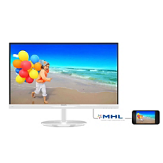234E5QHAW/00  Monitor LCD z technologią SmartImage Lite