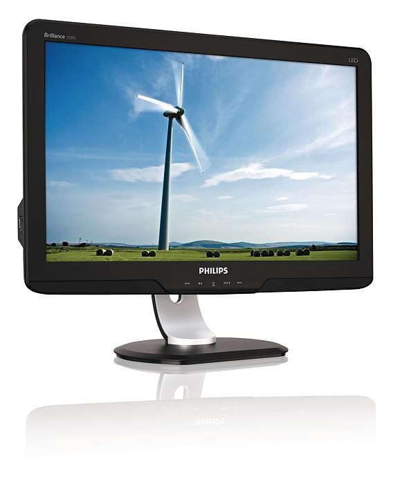 Le premier écran PowerSensor à DEL au monde économise l'énergie