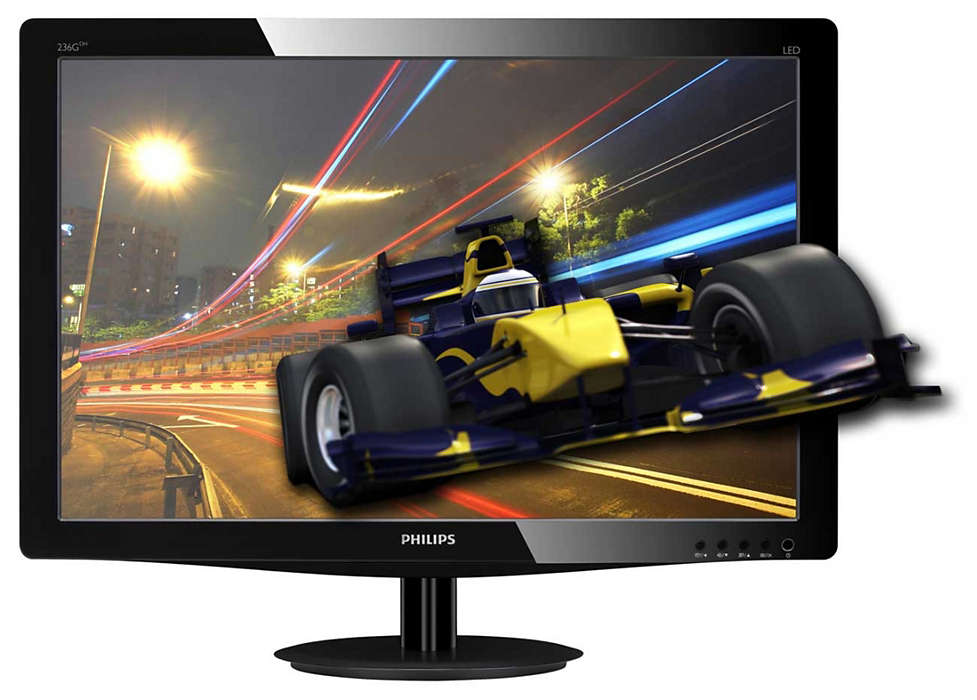 Experience 3D gaming on your big display