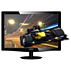 3D LCD-monitor met LED-achtergrondverlichting