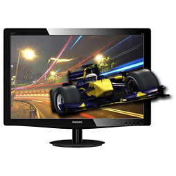 3D LCD monitor, LED backlight