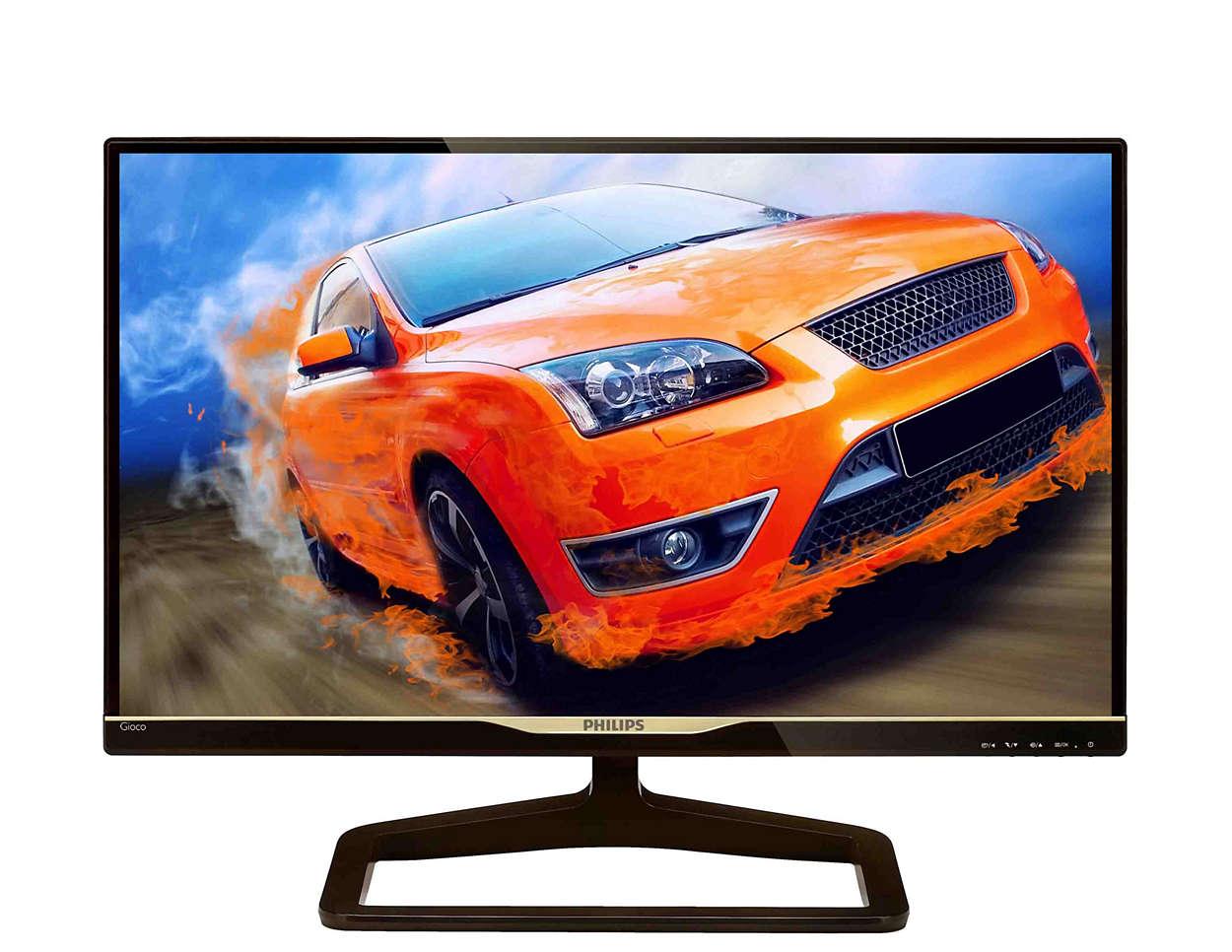 Stylish, high-performance display