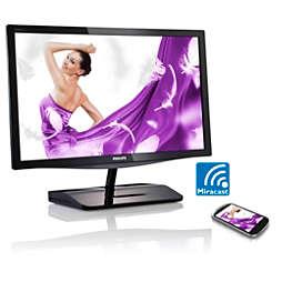 Brilliance Moniteur LCD avec Miracast