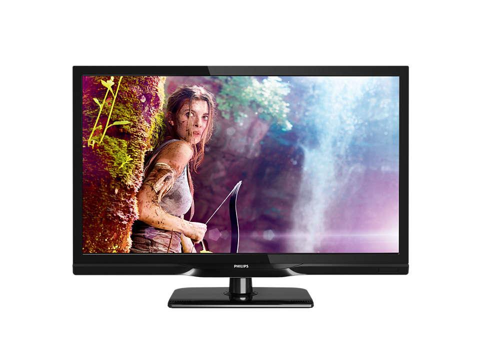 Slim LED-TV