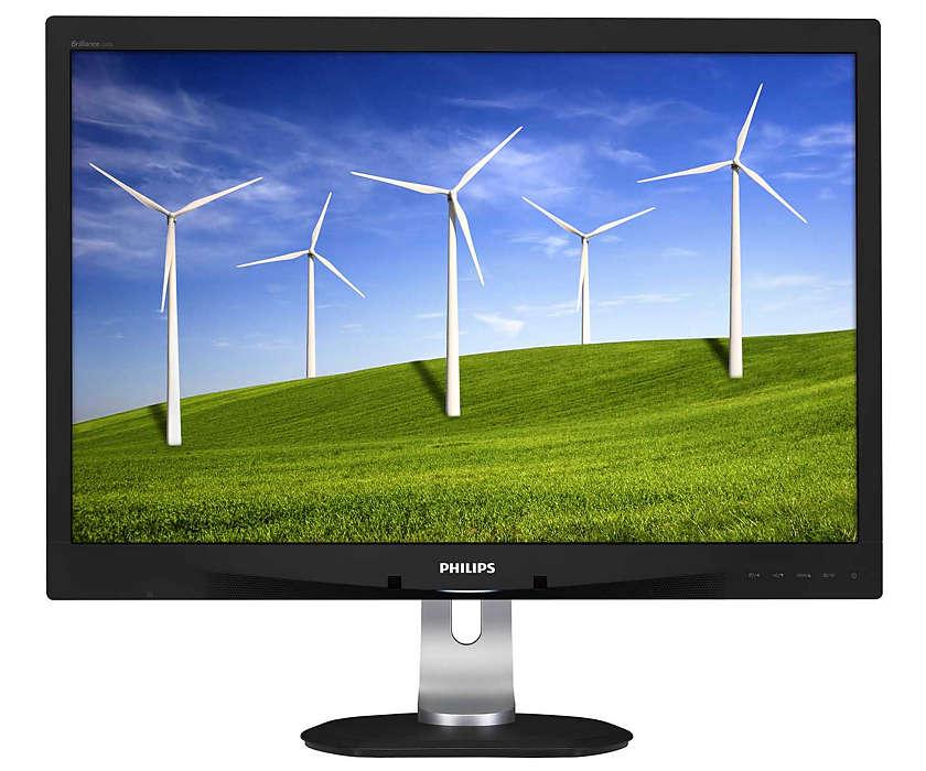 Zukunftsfähiger Monitor im umweltschonenden Design