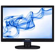 Brilliance LCD widescreen monitor