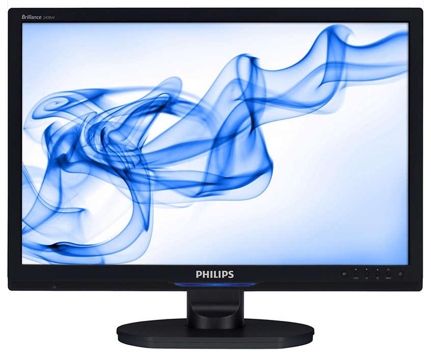 WideColor 人體工學顯示器,助你的业务蒸蒸日上。