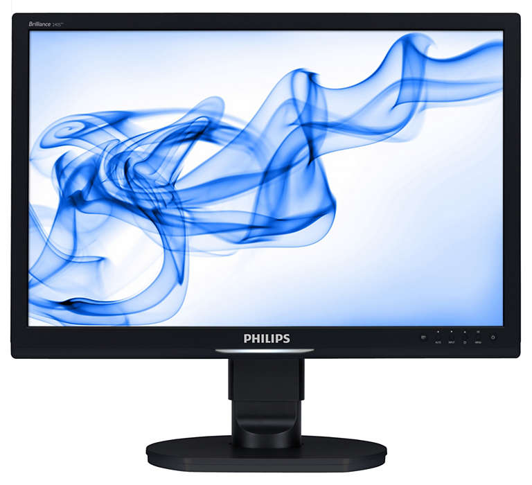 Großer ergonomischer Monitor zur Steigerung der Produktivität