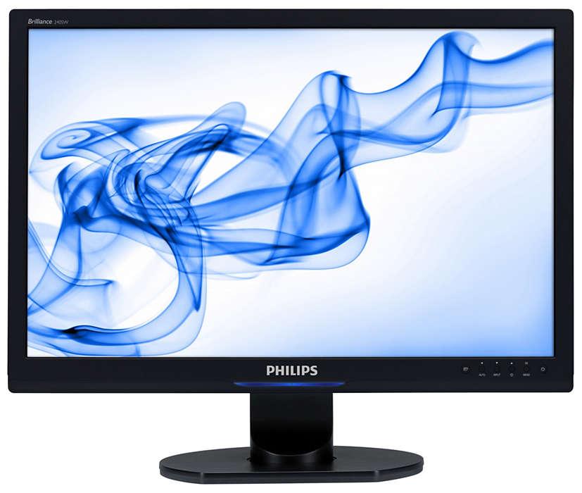 大型寬螢幕,可提升企業生產力