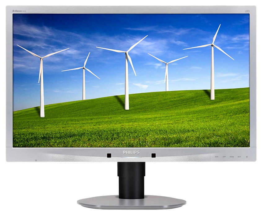 Ecrã de design ecológico sustentável