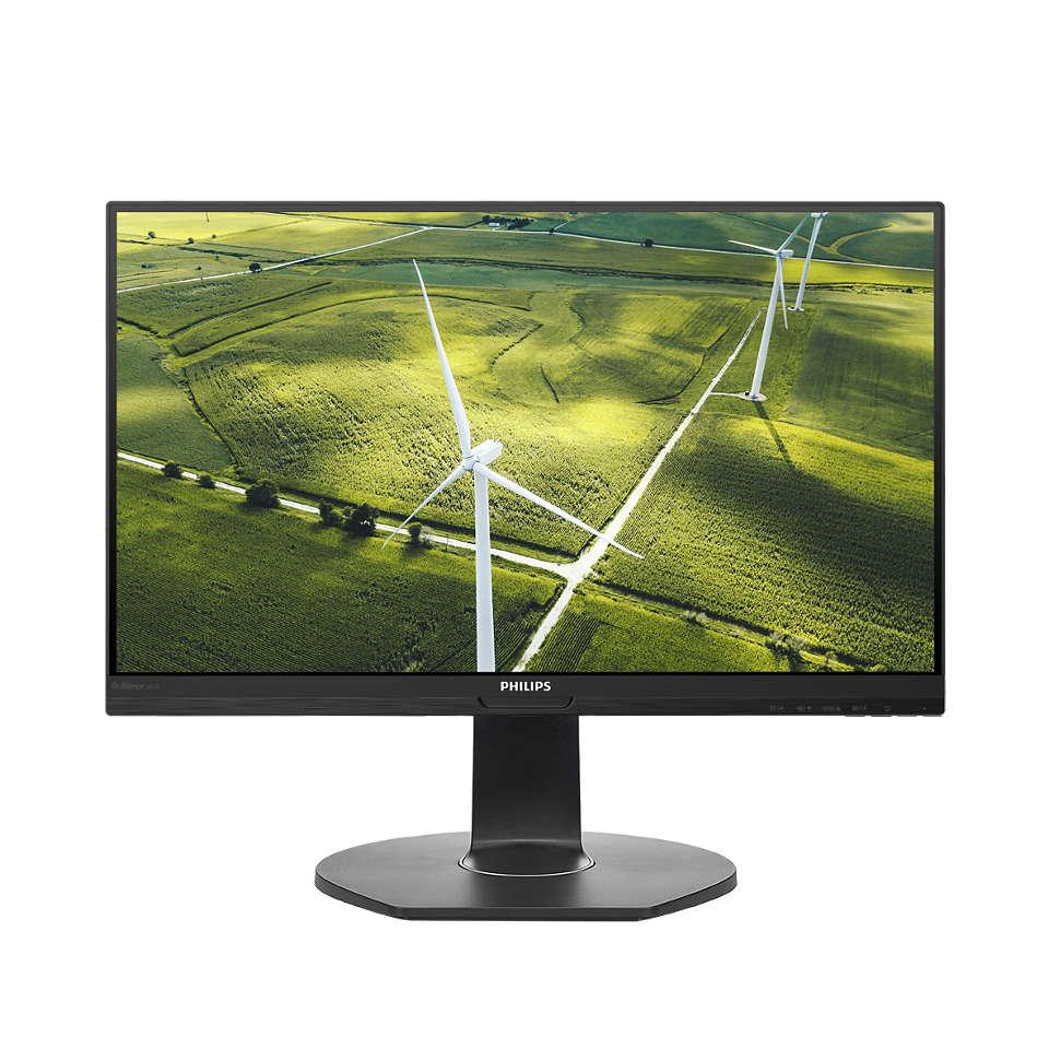 Labai taupantis energiją LCD monitorius