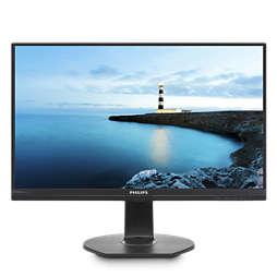 Monitor LCD FHD com ancoragem USB-C