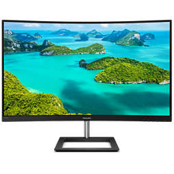 Full HD Curved LCD monitor