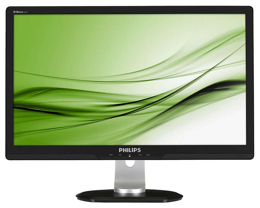 Professional ergonomic display boosts productivity