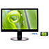 Brilliance LCD-skærm med SoftBlue-teknologi