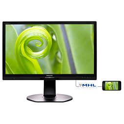 Brilliance LCD-Monitor mit SoftBlue Technology