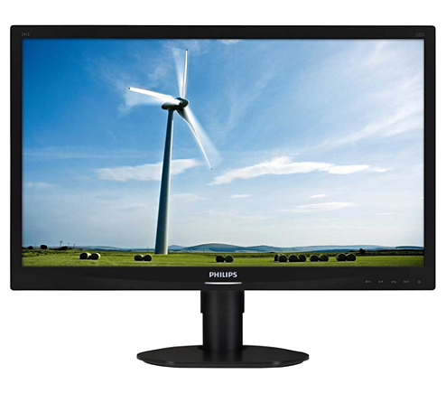 lcd monitor mit led hintergrundbeleuchtung 241s4lcb 00. Black Bedroom Furniture Sets. Home Design Ideas