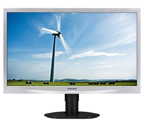 lcd monitor mit led hintergrundbeleuchtung 241s4lcs 00 philips. Black Bedroom Furniture Sets. Home Design Ideas
