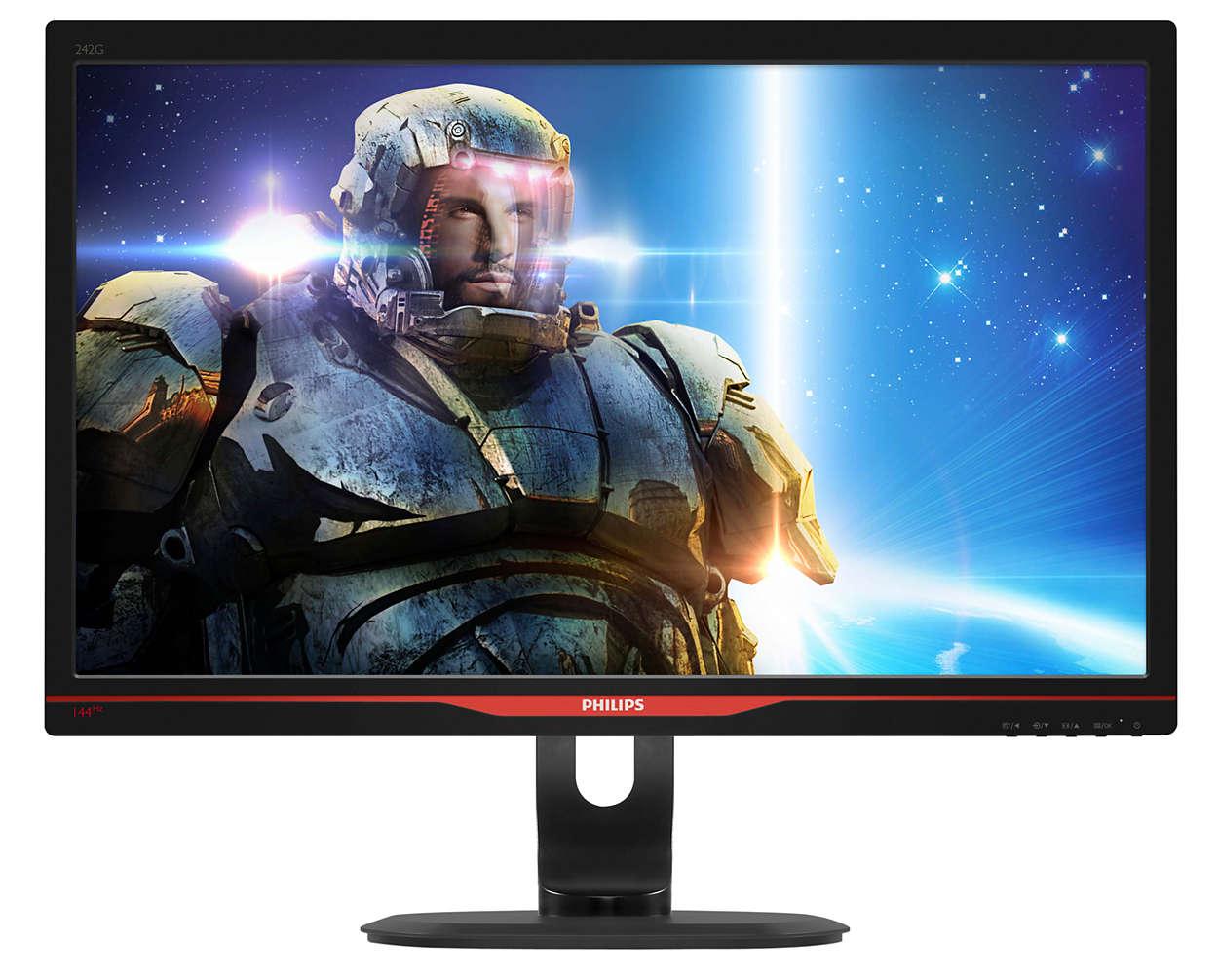 144 Hz žaidimų vaizdo atnaujinimo sparta