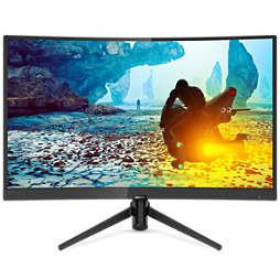 Momentum 全高清曲面 LCD 顯示器