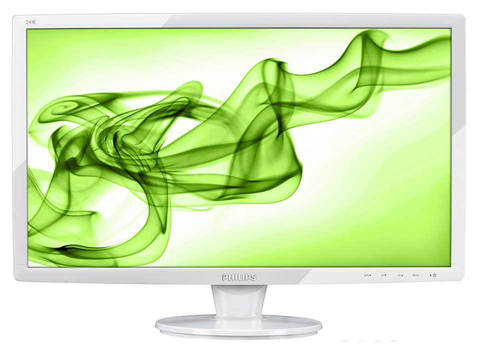 Big HDMI display for Full HD entertainment