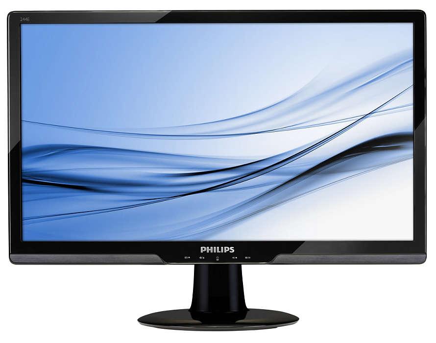 Wspaniała rozrywka na dużym monitorze LED ze złączem HDMI