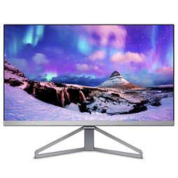 Moda Slanke monitor met Ultra Wide-Color