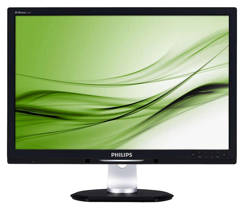La primera pantalla con PowerSensor que ahorra energía