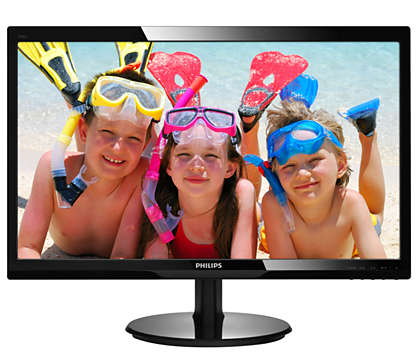 Enjoy great LED pictures in vivid colours