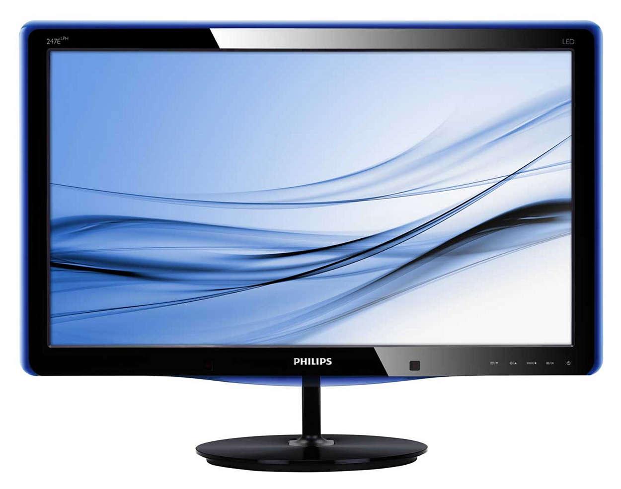 Elegant display with PowerSensor