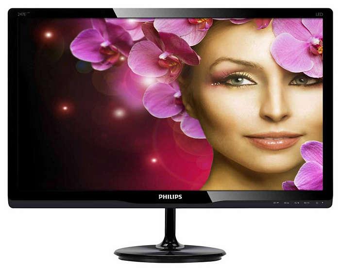Elegancki monitor zapewnia lepsze wrażenia podczas oglądania