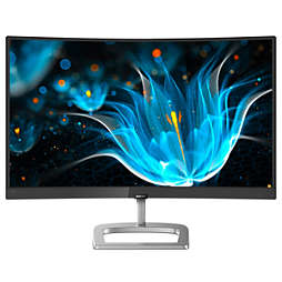 Zakrivený LCD monitor s technol. Ultra Wide-Color