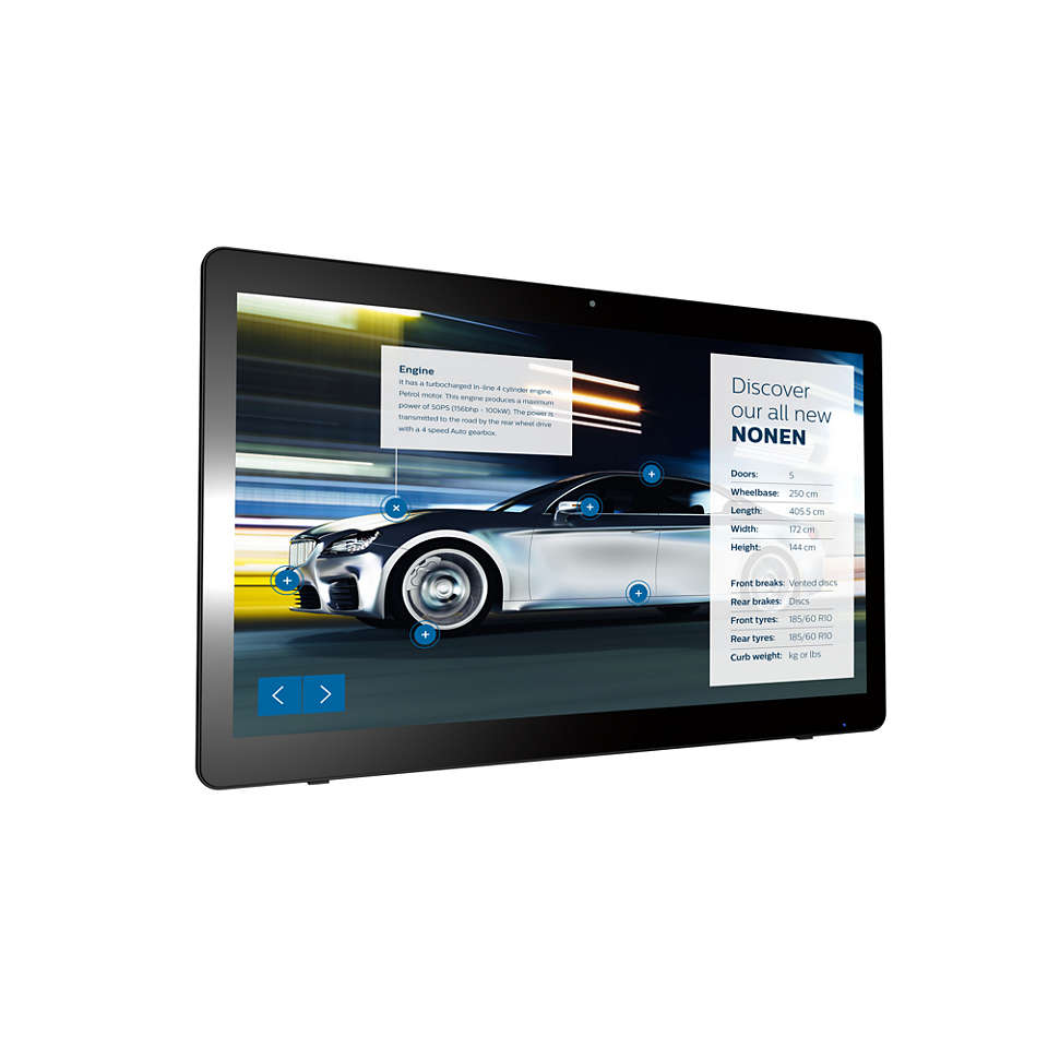 Signage Solutions Écran tactile multipoint