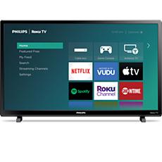 24PFL4664/F7 Roku TV 4000 series LED-LCD TV