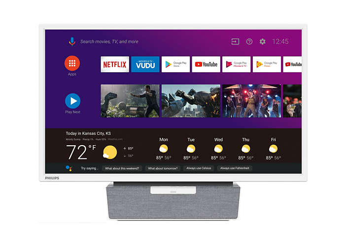 AndroidTV with Google Assistant