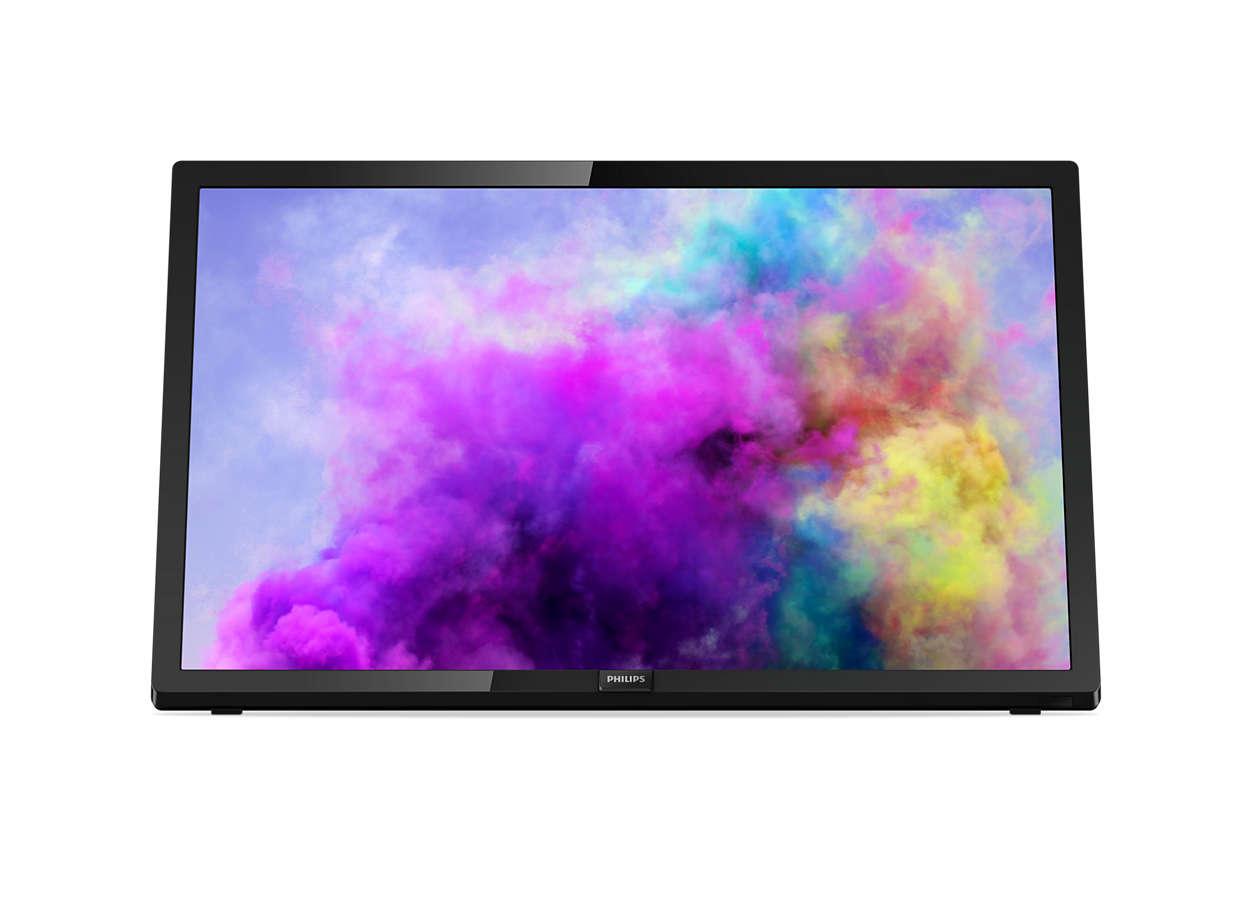 Téléviseur LED ultra-plat FullHD