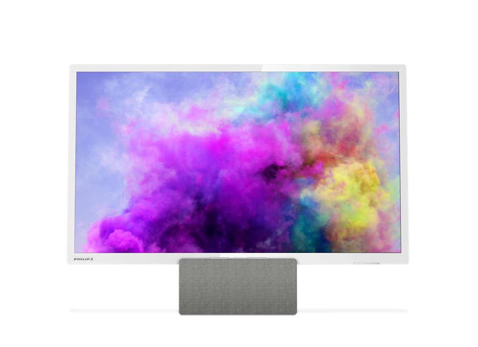 Ultra tenký LED televízor srozlíšením Full HD