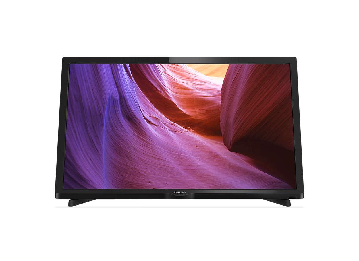 Téléviseur LED plat