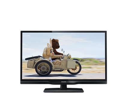 Flacher LEDTV