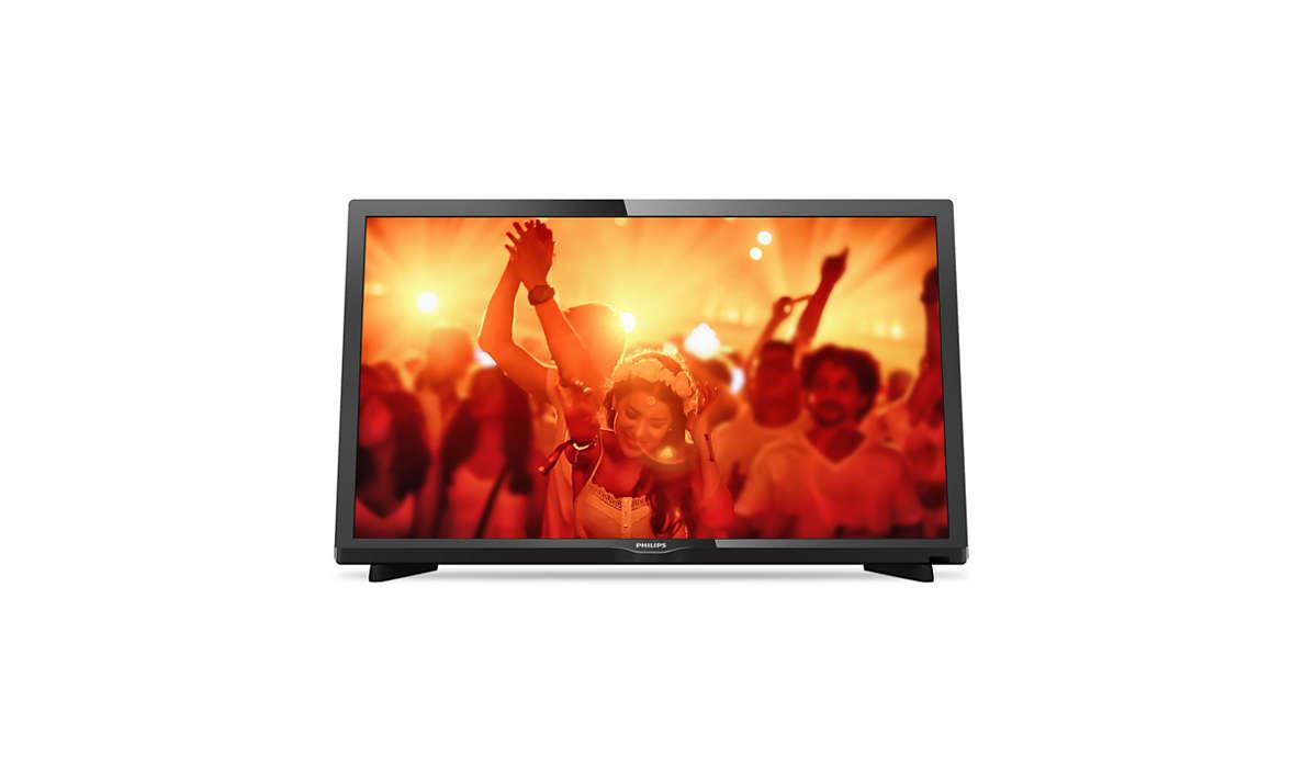 Ултратънък LED телевизор