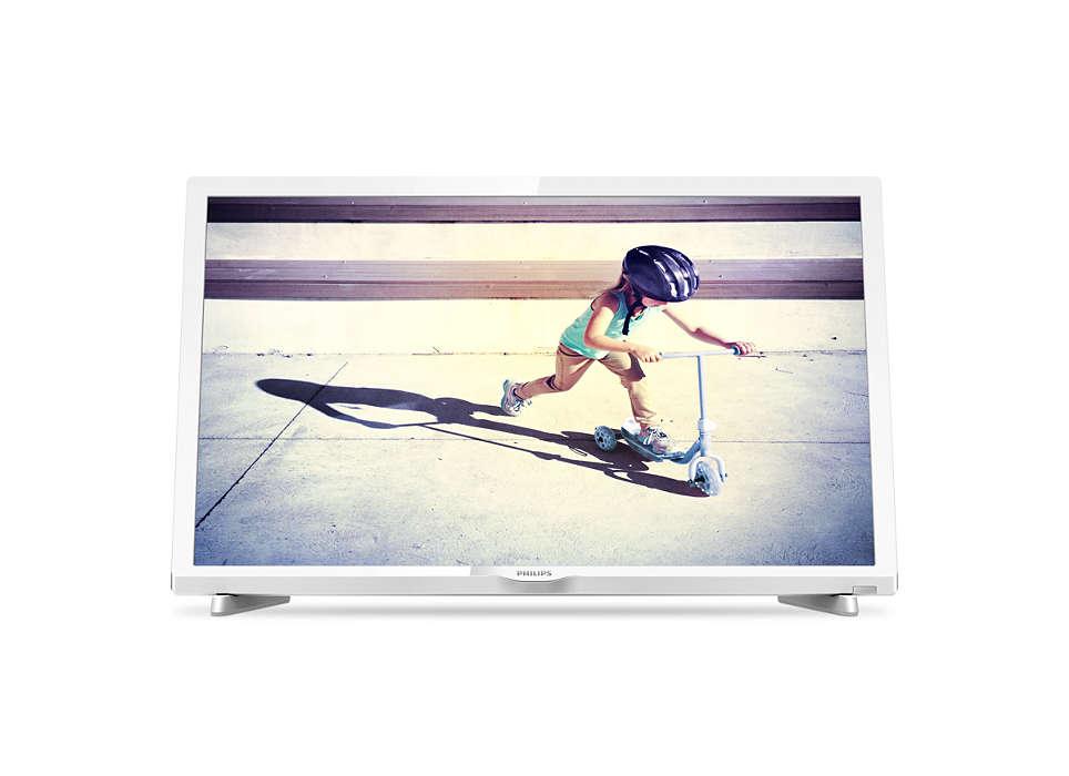 Niezwykle smukły telewizor LED