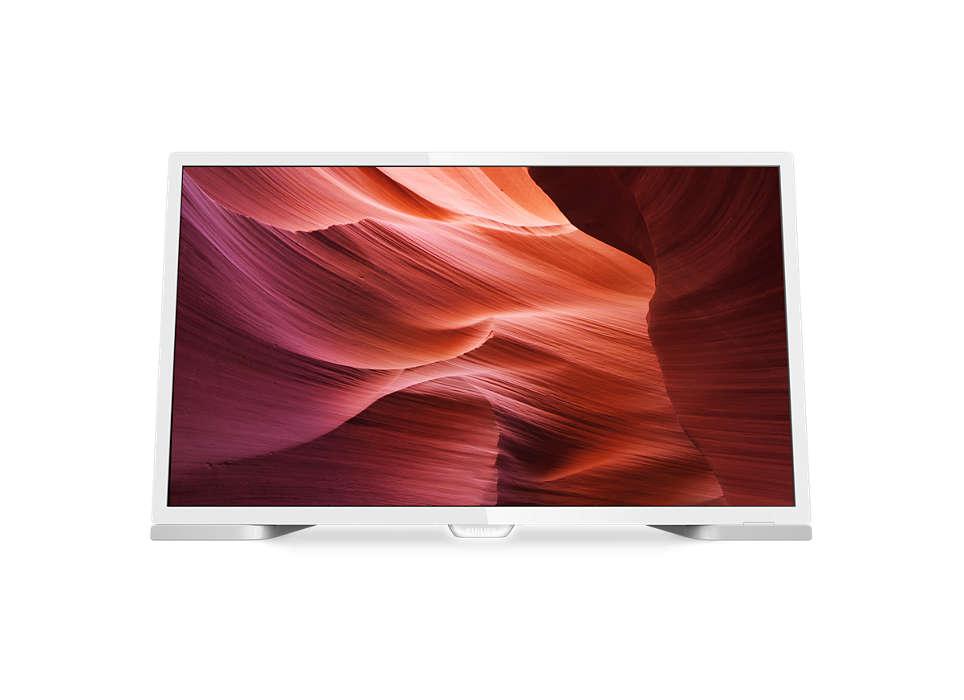 Slank LED-TV