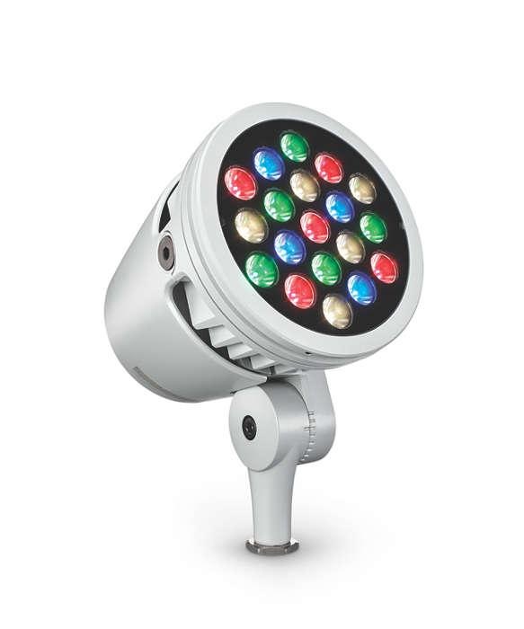 ColorBurst Powercore gen2 RGBW/RGBA